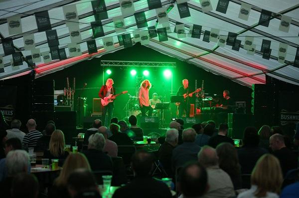 Bushmills entertains at Belfast Blues event