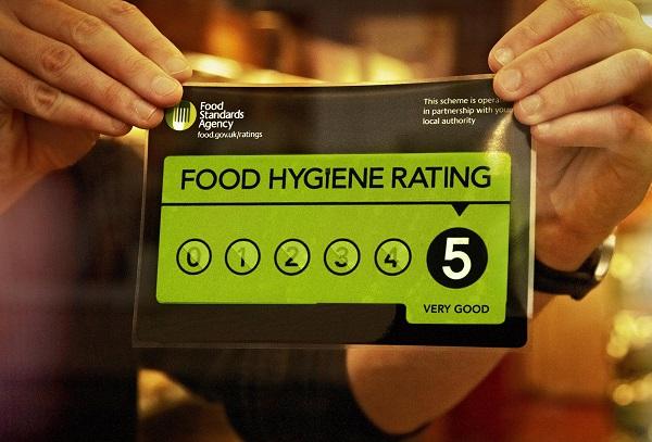 NI food venues top UK hygiene ratings
