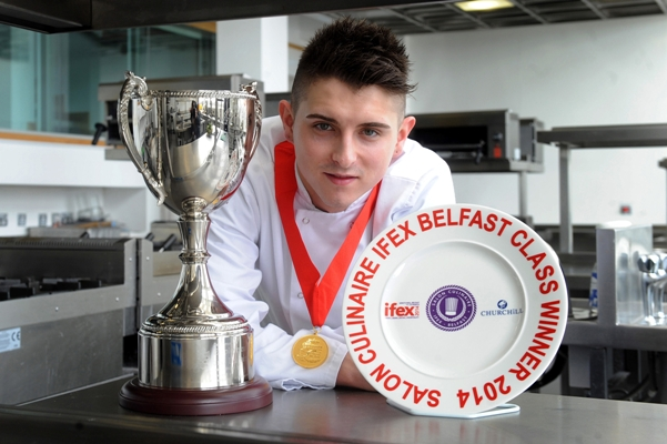 Student chef serves gold at IFEX