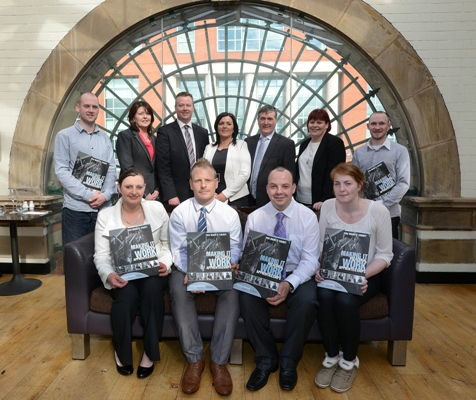 Recognition for Mount Charles staff