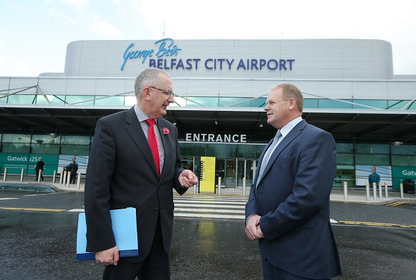 New Barcelona route launched from Belfast City Airport