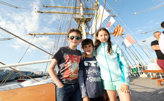 Ahoy there! Tall Ships arrive in Belfast