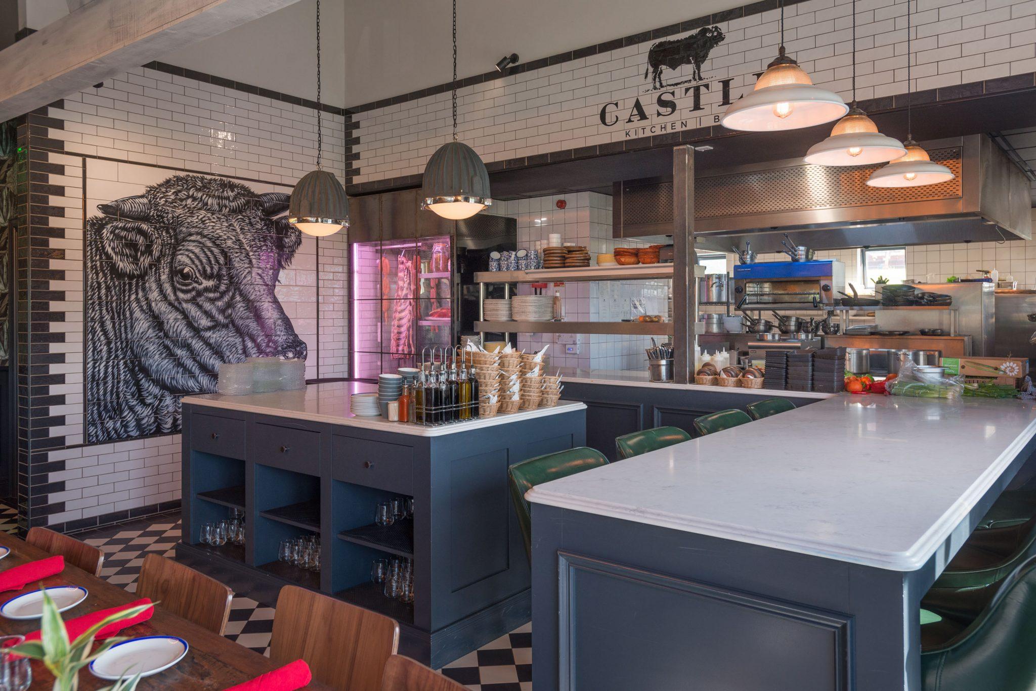 interior castle kitchen & bar