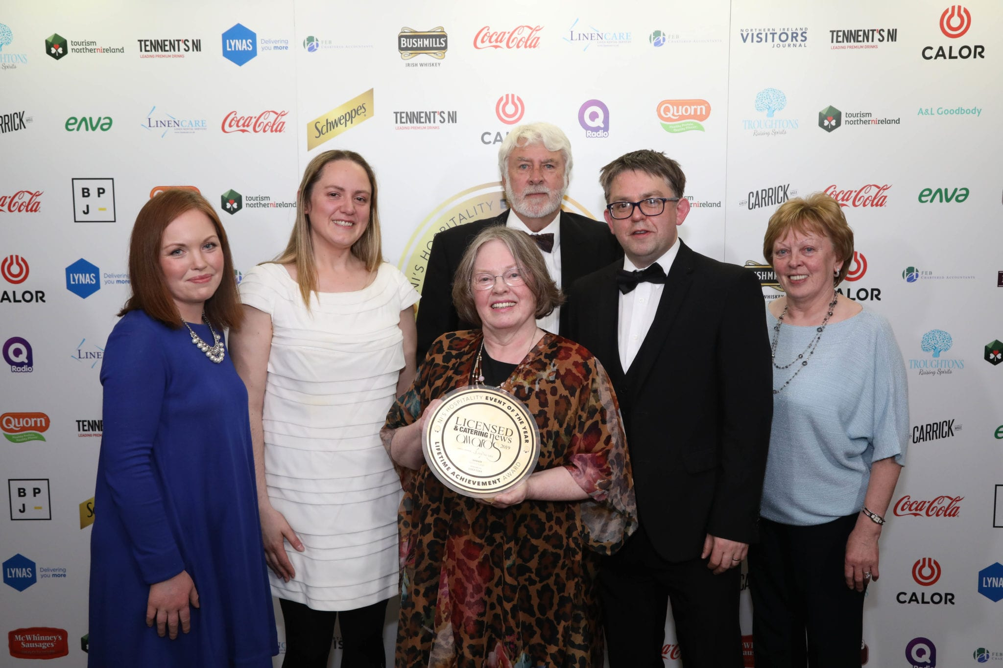 Hotelier Patsy honoured at glittering LCN Awards night
