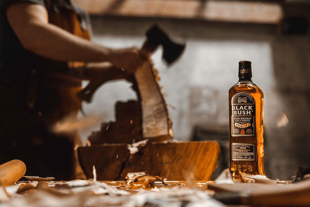 Bushmills Black Bush launches new workshop series with Irish woodworker
