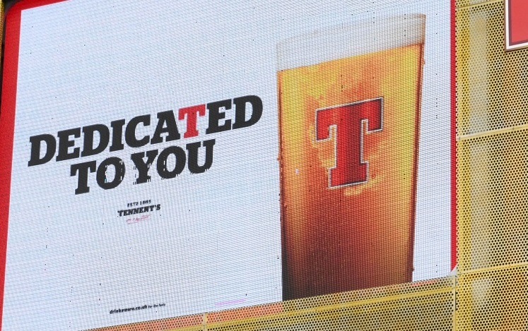 Dedicated To You – Tennents NI supports the on-trade