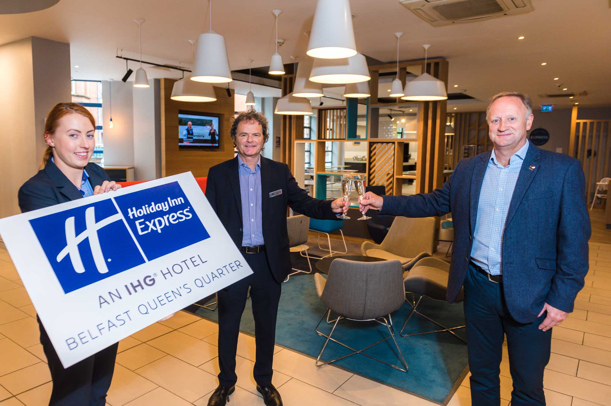 £5m makeover unveiled at Holiday Inn Express