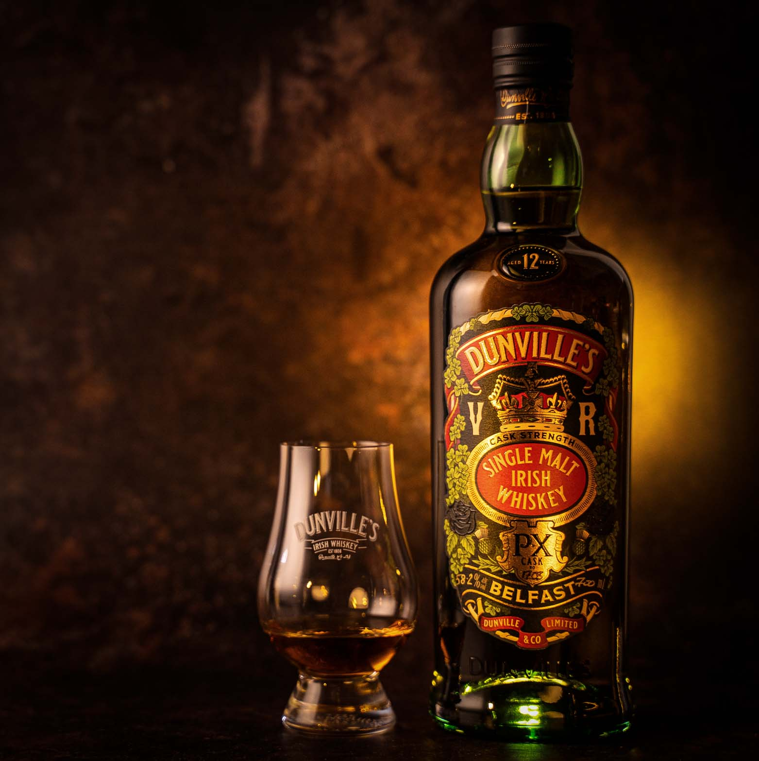 Third PX Cask Strength release from Dunville's Irish Whiskey
