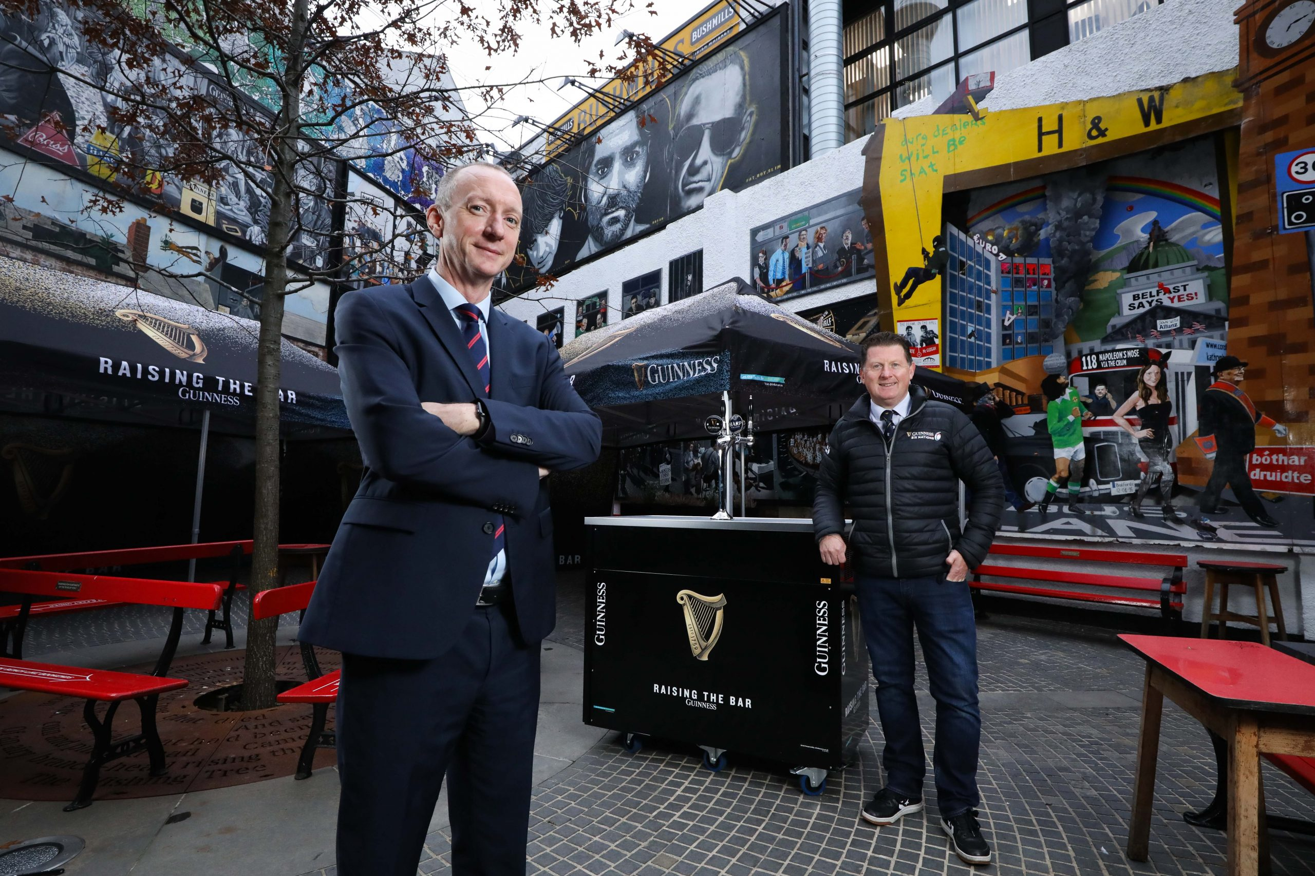 Guinness pitches in for pub owners, staff and families