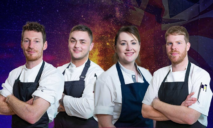 NI's Fab Four come together for Great British Menu glory