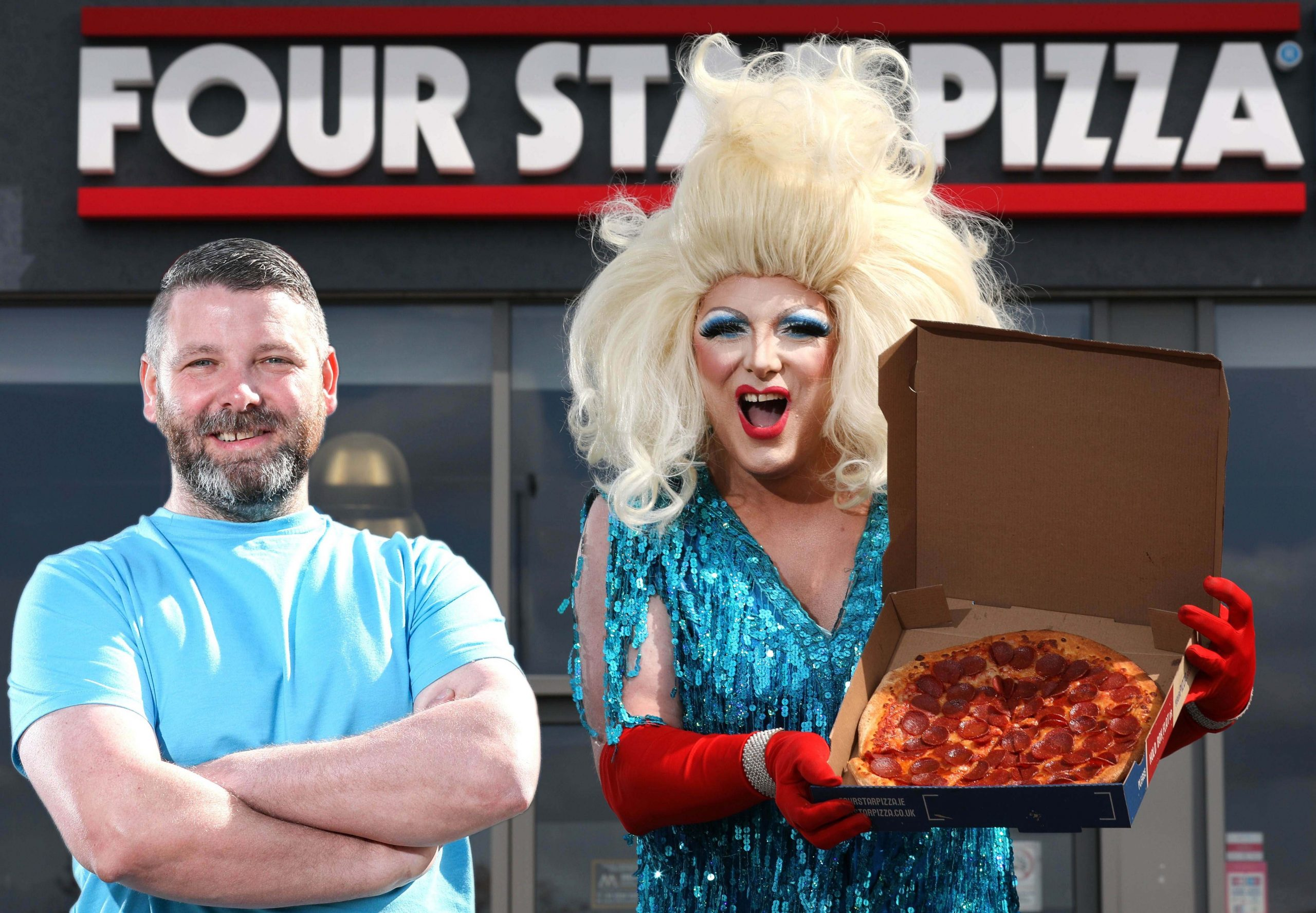 Four Star treatment's a real drag for pizza-loving Alfie