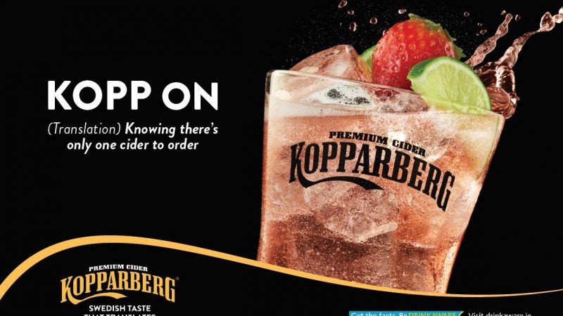 Kopparberg embraces Northern Ireland… so it does!