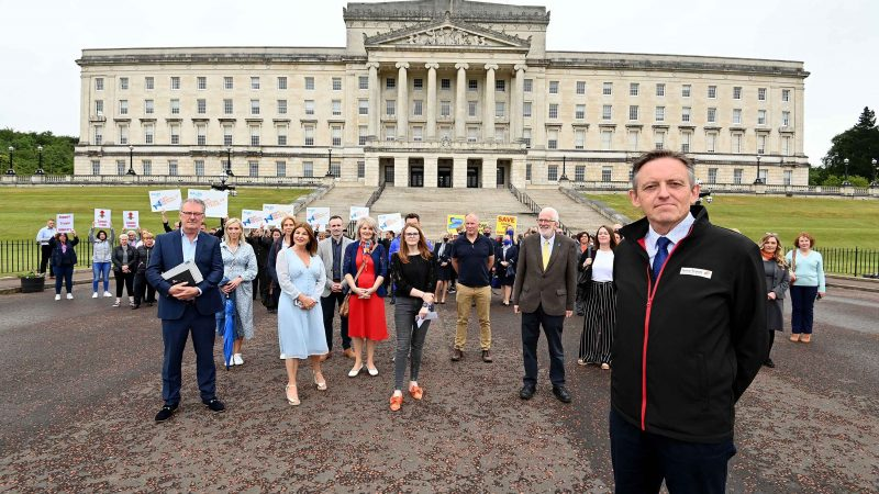 Travel industry reps UNITE at Stormont to call for reopening