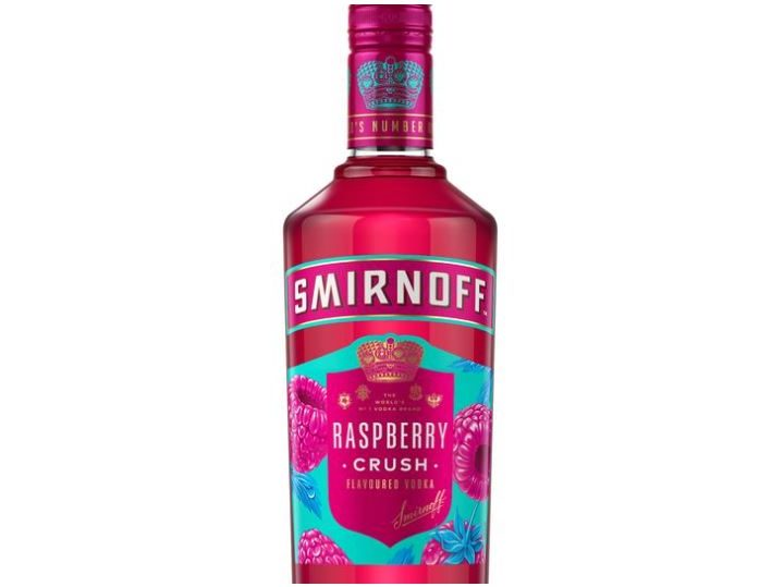 Smirnoff in the pink with Raspberry Crush