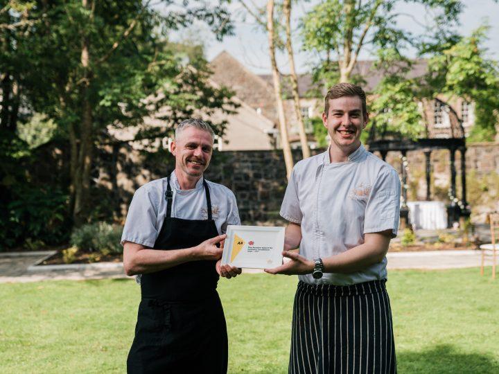 Dunadry's restaurant wins prestigious AA Rosette