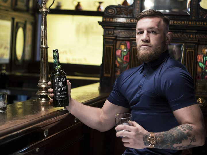 MMA star McGregor may have to change his whiskey's name