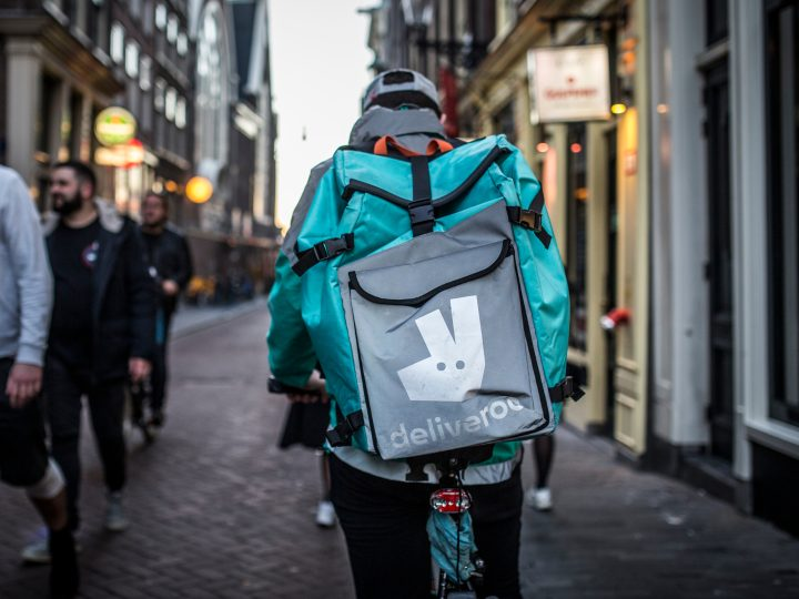 Deliveroo surges ahead despite reopening of restaurants